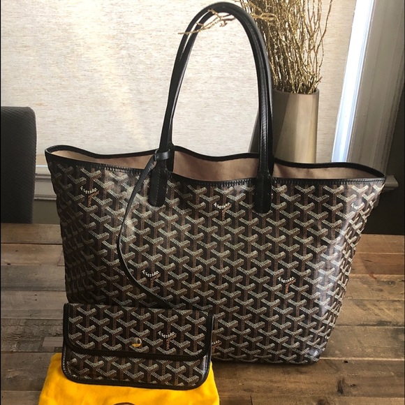 various styles wholesale outlet first look Goyard Bags | Sold Authentic St Louis Tote Pm Black | Poshmark